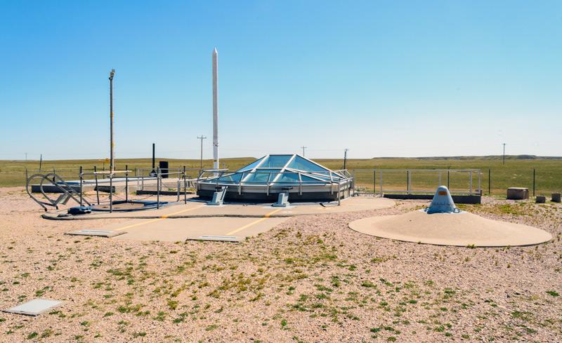 minuteman missile national historic site in south dakota near the badlands
