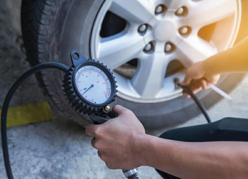 monitoring camper tire pressure