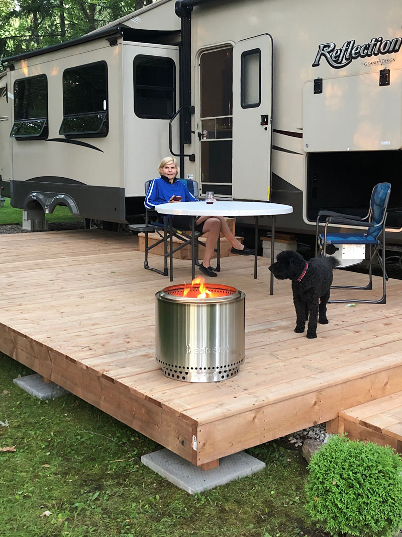 2021 Best Portable Campfire Pits For Rv Camping And 5th Wheel Travel Trailers