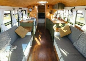 Diy Conversion Bus To Live In