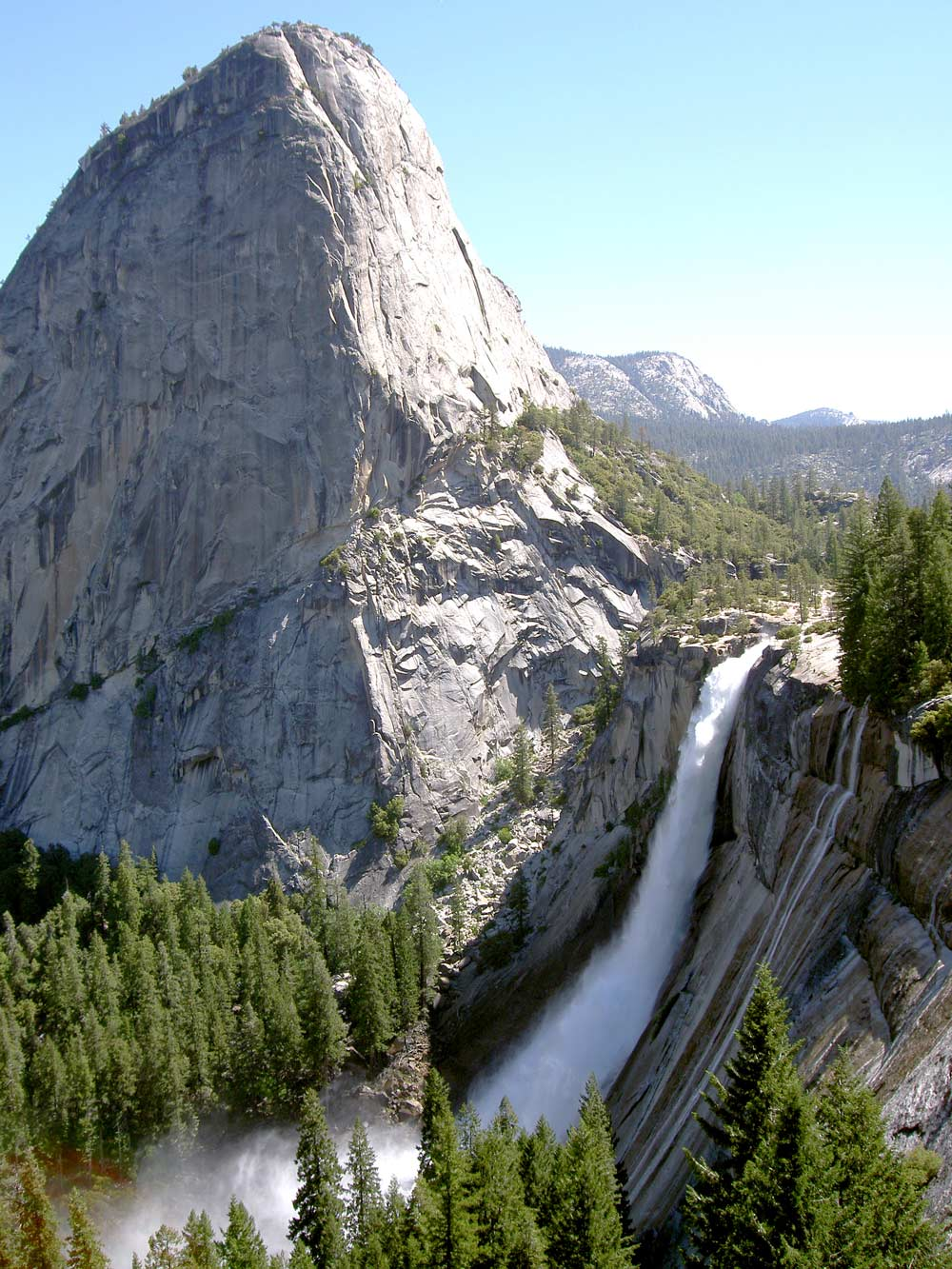 View of Nevada Fall from the John Muir Trail, Yosemite National Park