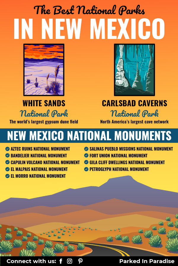 national parks in new mexico