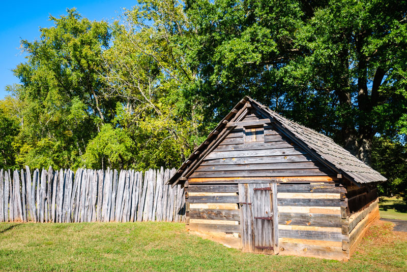 ninety six national historic park in south carolina