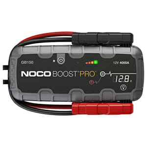 best portable jump starter for RV motorhome camping
