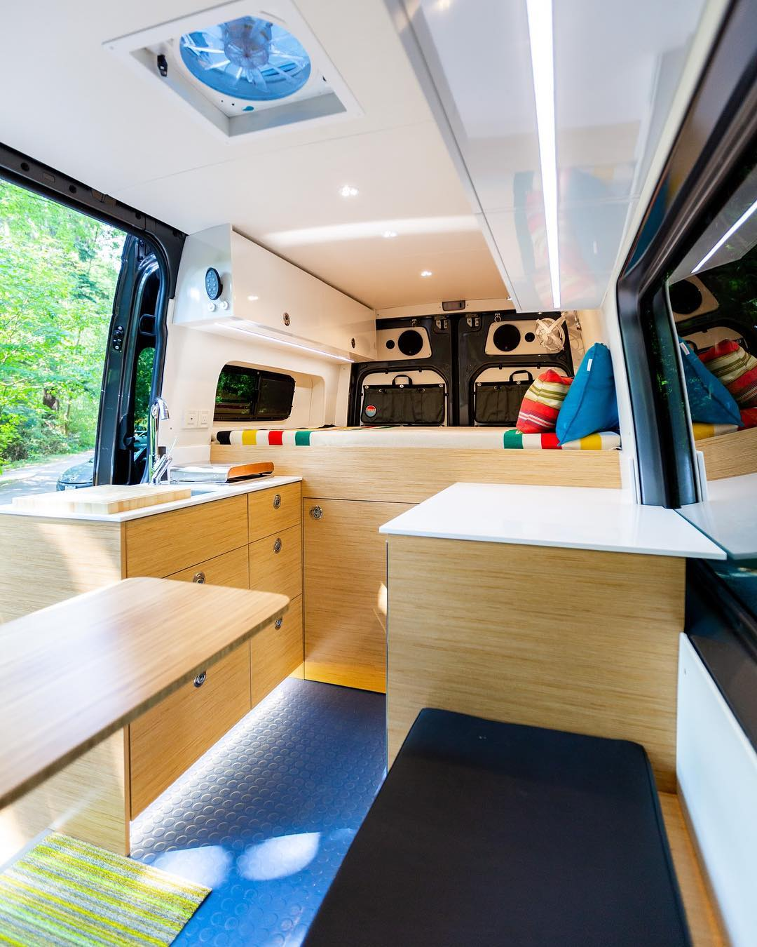 mercedes van build