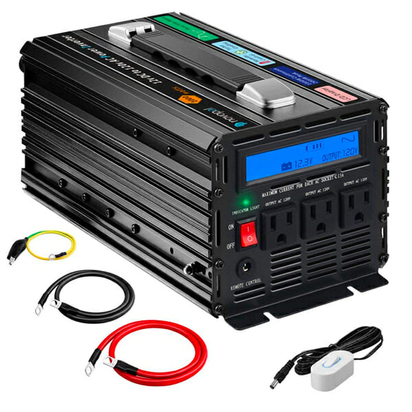 best 12 volt inverter for a camper van