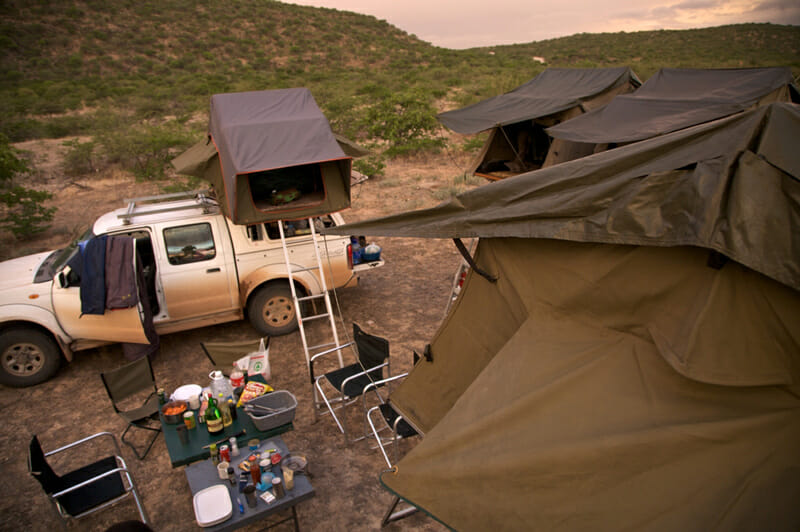 off road camping and overlanding