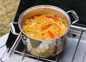 One Pot Lo Mein Camping Recipe