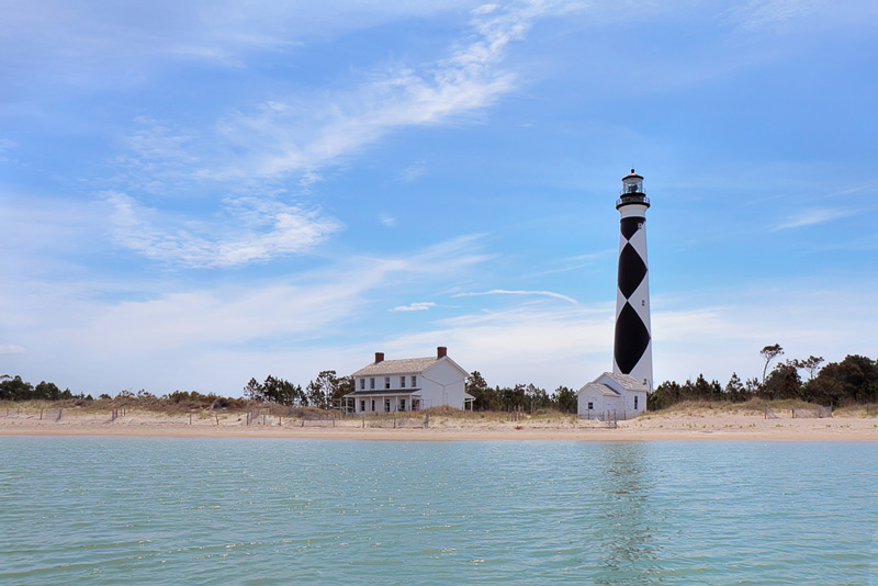outer banks national park lighthouse in north carolina