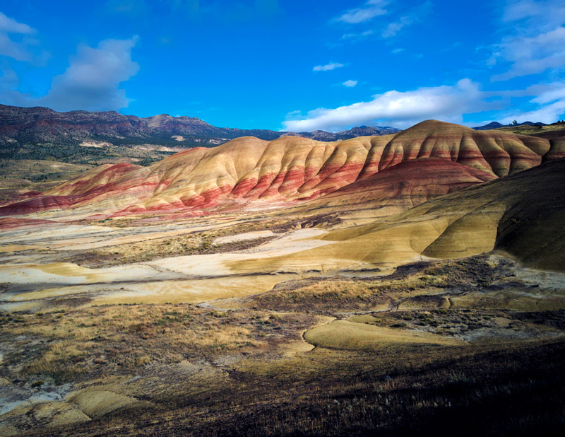 painted hills at the john day fossil beds national memorial and park in oregon
