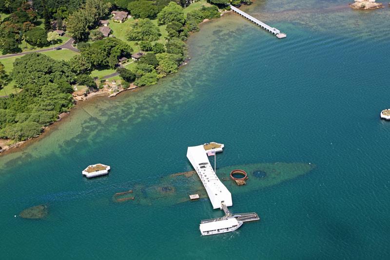 pearl harbor national memorial in hawaii