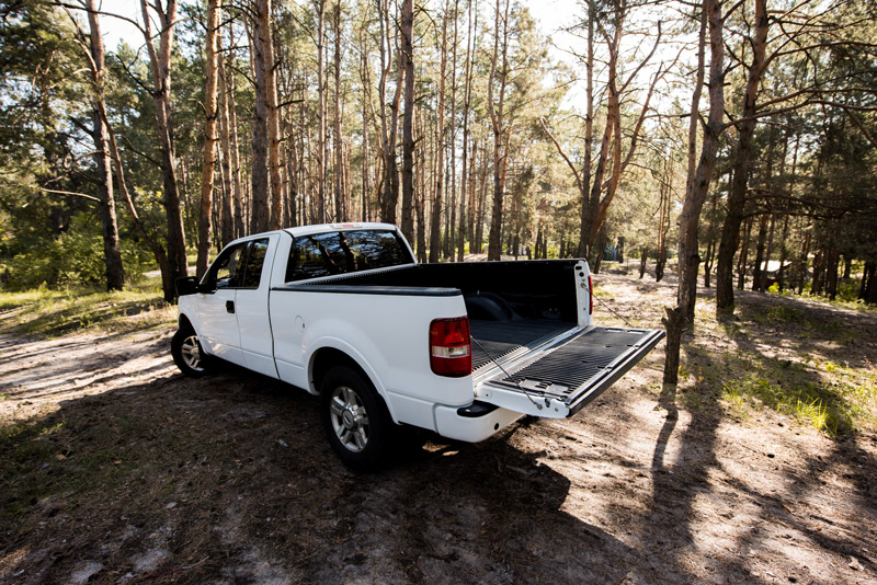 how to size a pickup truck camping mattress