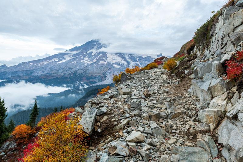 Pinnacle Peak Trail Mount Rainier