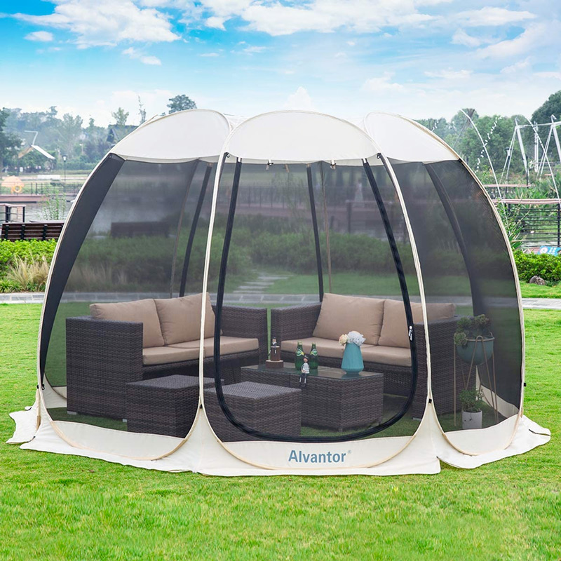 popup screen tent for camping