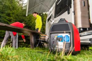 portable rv generator power