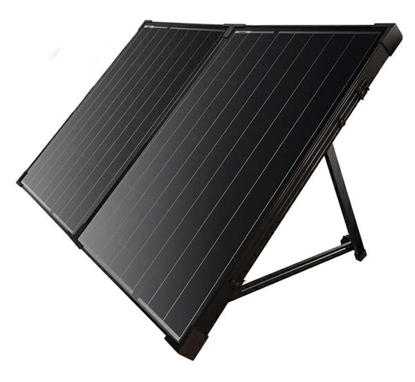 portable solar suitcase for camping