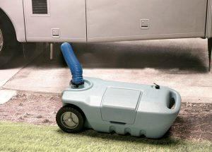 RV Portable Waste Water Expansion Tank