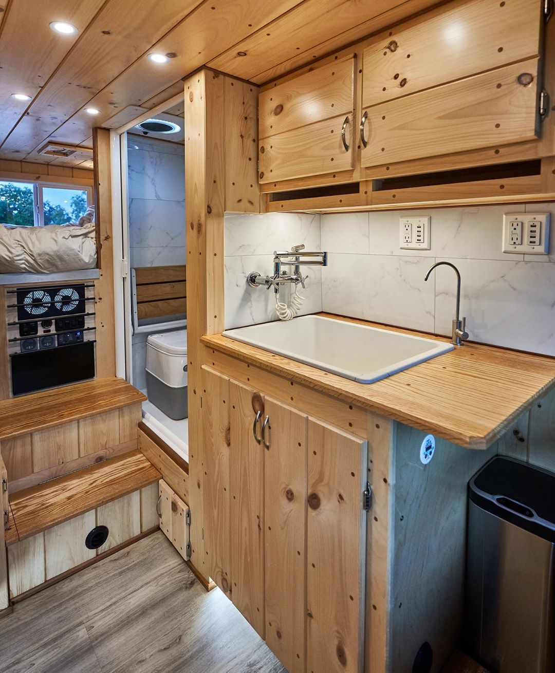 Custom dodge promaster camper van conversion