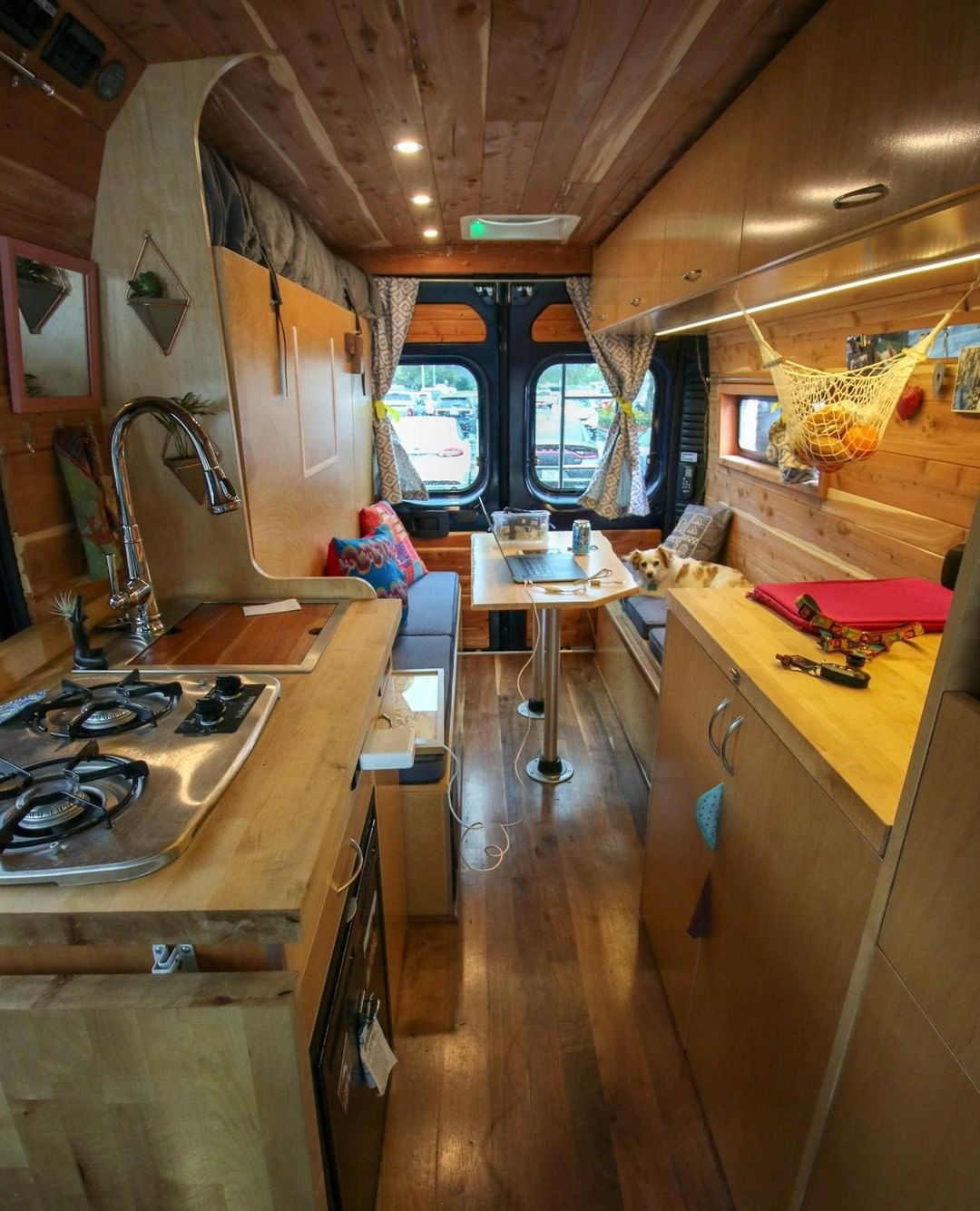Promaster van conversion with murphy bed design