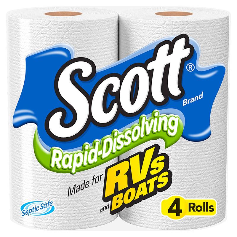 Scott Rapid-Dissolve Toilet Paper