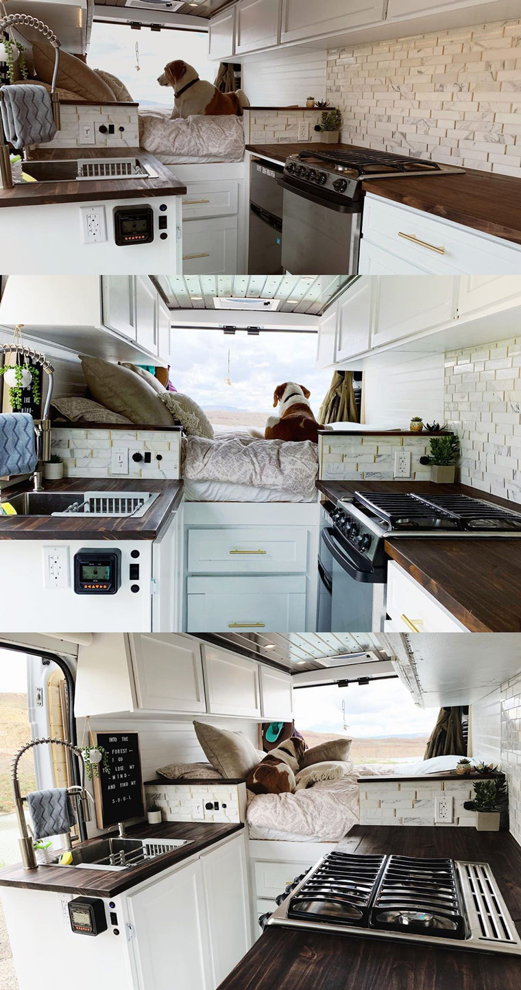 Dodge promaster diy camper conversion