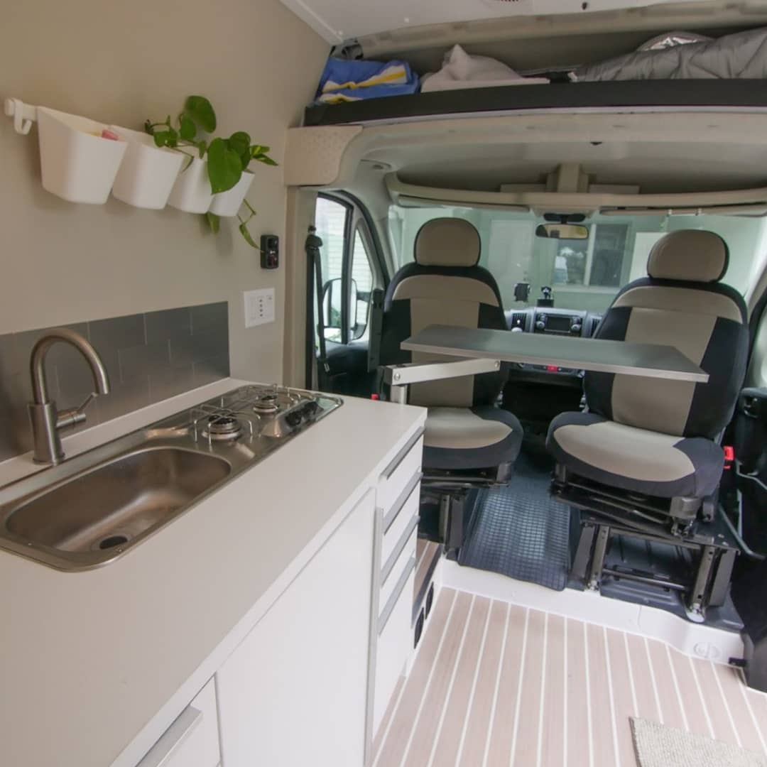 Ram promaster diy van conversion
