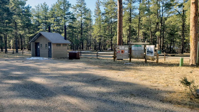 red cloud campground in new mexico