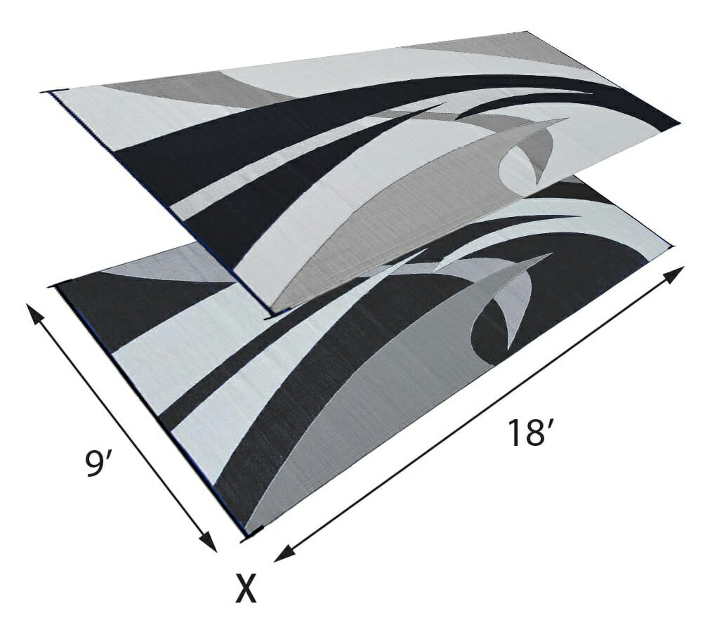 reversible rv patio mat