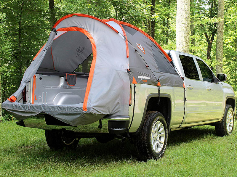 Rightline gear truck tent for camping