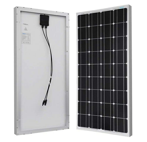 rigid solar panel for an rv camper van