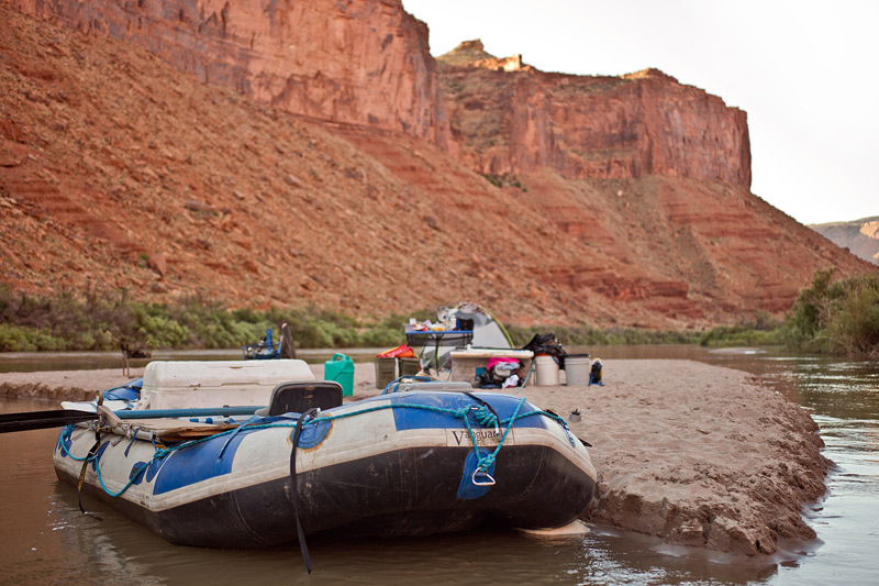 river camping in glen canyon national recreation area