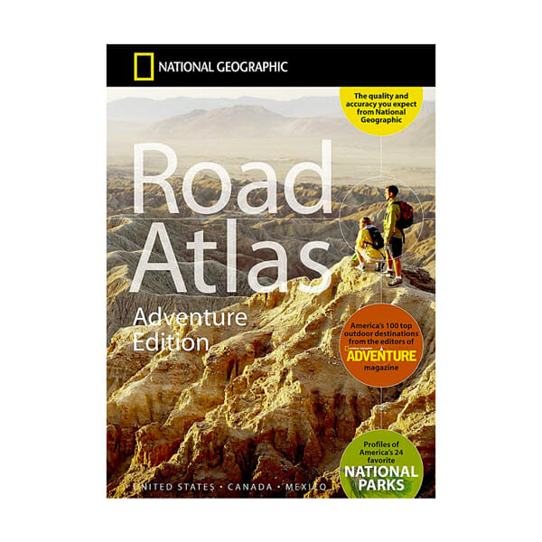 The best road trip adventure atlas for a van lifer