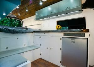 Building 12v Lights Into A Diy Campervan Conversion Build