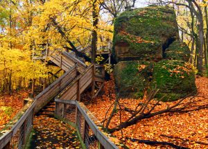 Rock Cut State Park In Northern Illinois