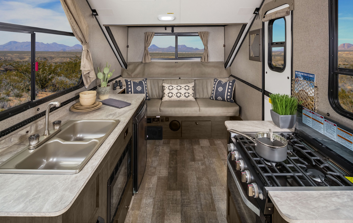 Rockwood Hardside Pop Up Camper