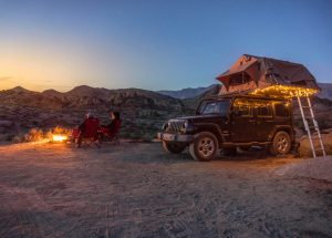 Roof Top Jeep Camping Tent