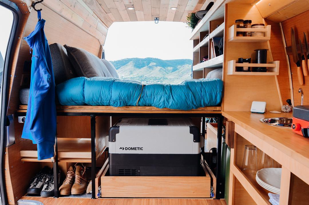 best 12 volt refrigerator for a campervan conversion or RV
