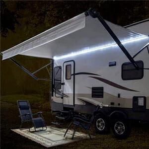 rv awning lights for a motorhome camper