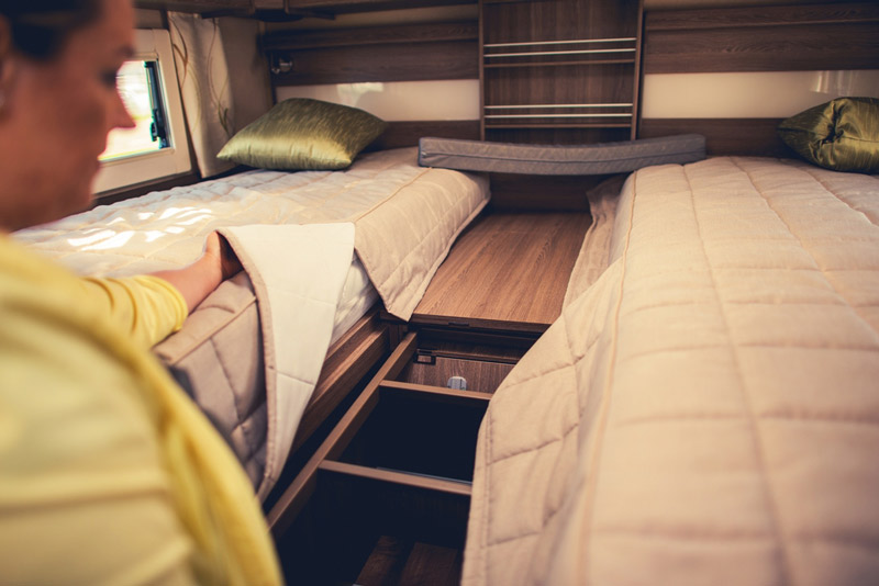 camper van bunk mattress topper