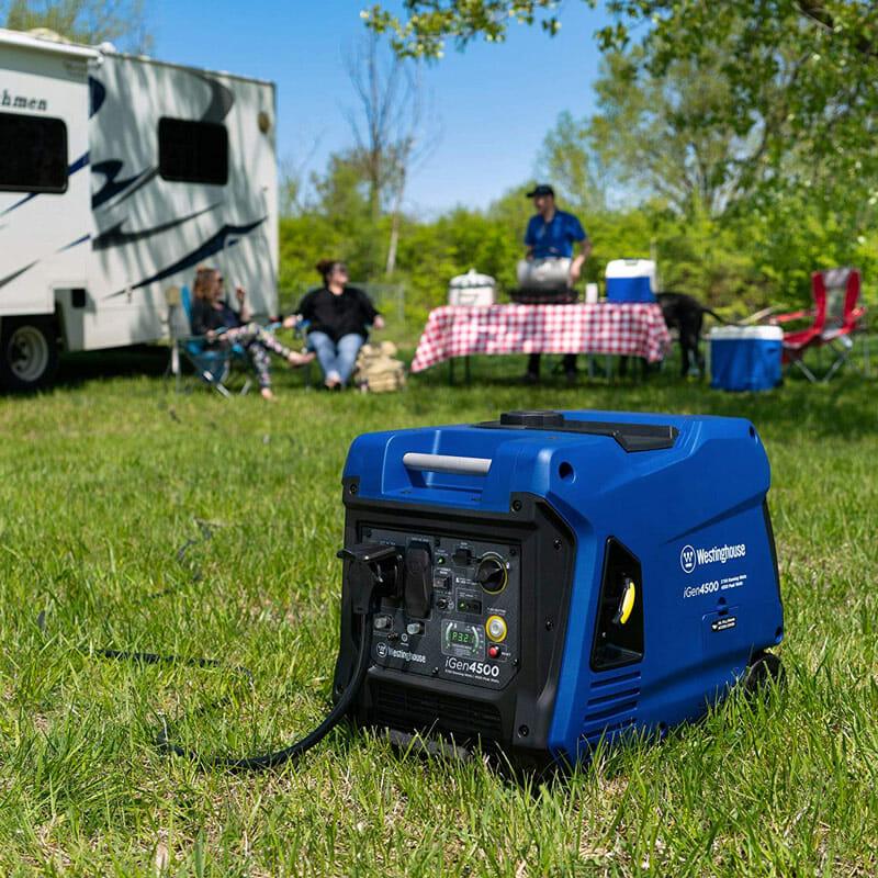 quiet rv camping generator