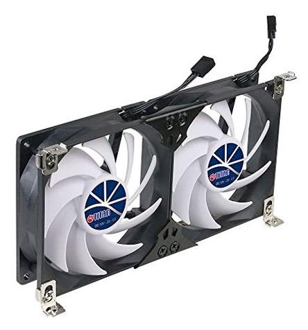 Titan 12V Double Rack Mount Cooling Fan