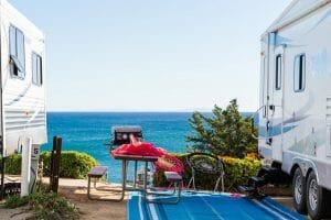 rv outdoor camping rug
