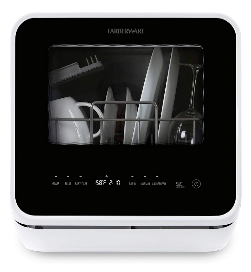 Farberware Portable Countertop Dishwasher