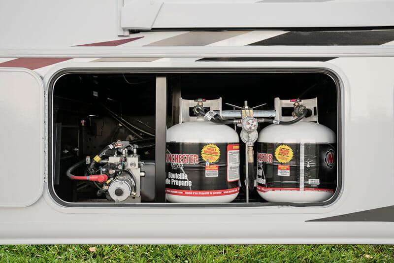 filling motorhome and rv propane tanks