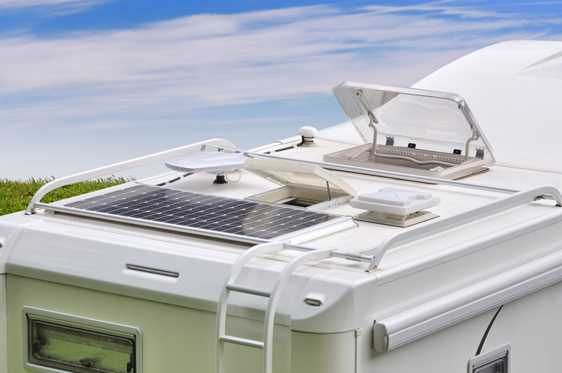 parts of an rv motorhome roof