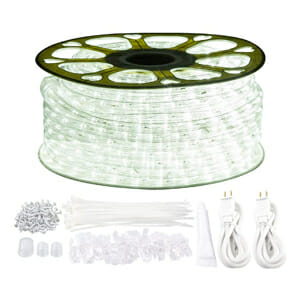 using led rope lights for outdoor camping