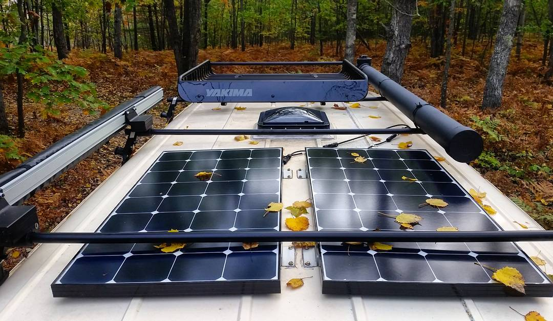2021 best solar panels for rv or camper van buyer guide