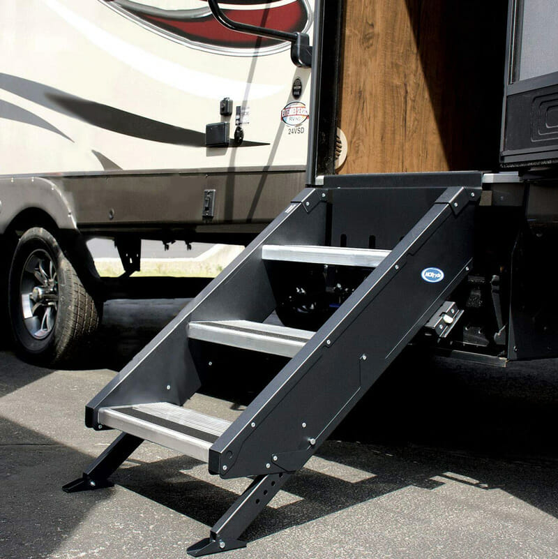 adjustable rv stair steps