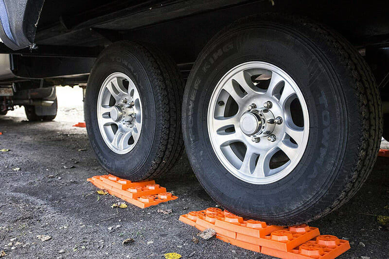 rv tire leveling blocks