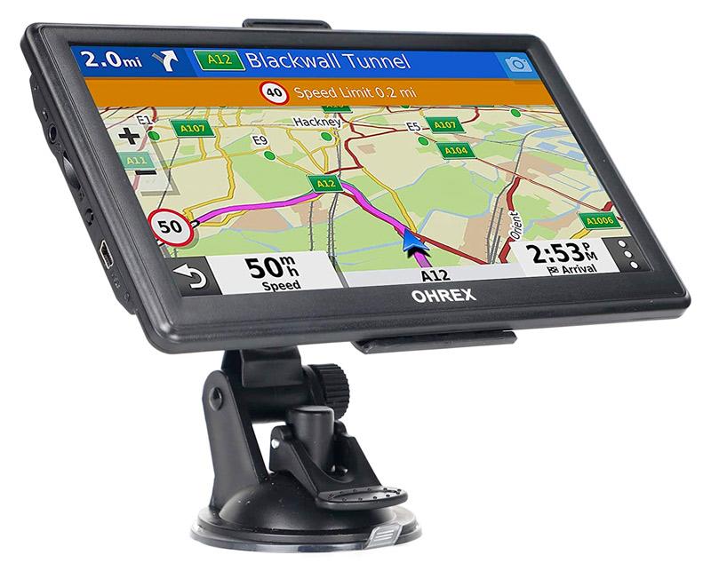 OHREX GPS Navigation for Trucks & RV Campers